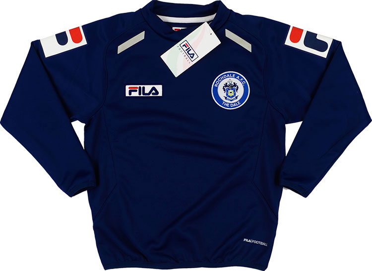 2013-15 Rochdale Fila Training Sweat Top *w/Tags* S.Boys