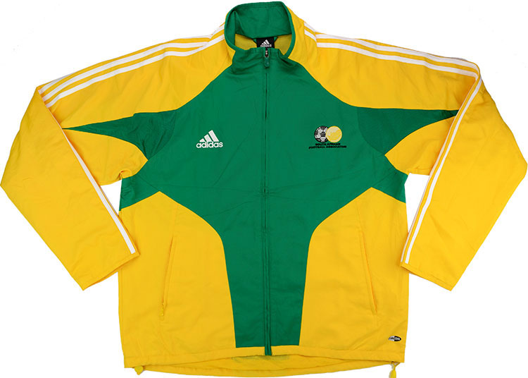 200406 South Africa Adidas Track Jacket Shirt (Excellent) XL
