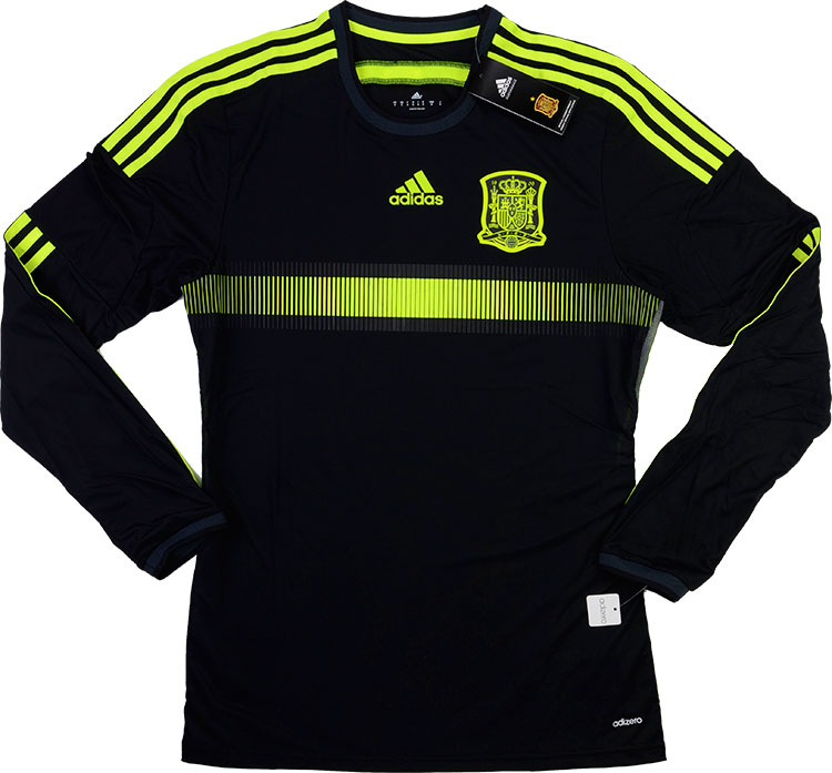 201315 Spain Adizero Player Issue Away LS Shirt BNIB