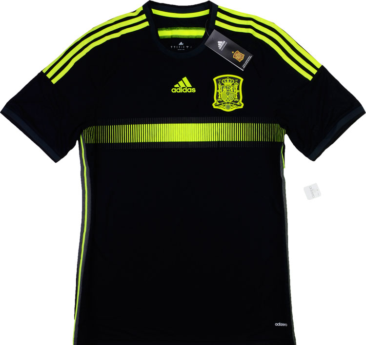201315 Spain Adizero Player Issue Away Shirt BNIB