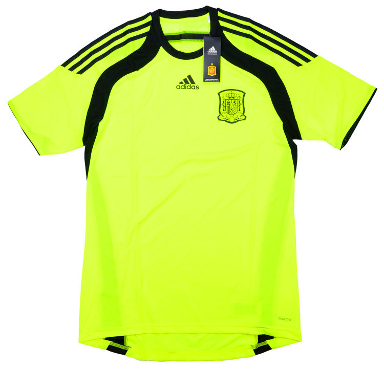 201315 Spain Player Issue Adizero GK Away Shirt BNIB