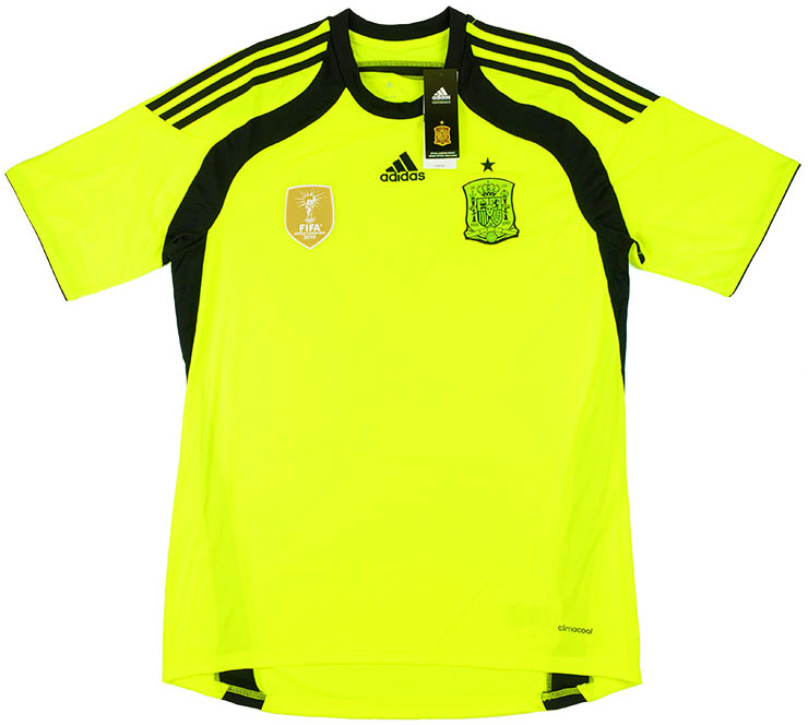 201315 Spain GK Away Shirt BNIB