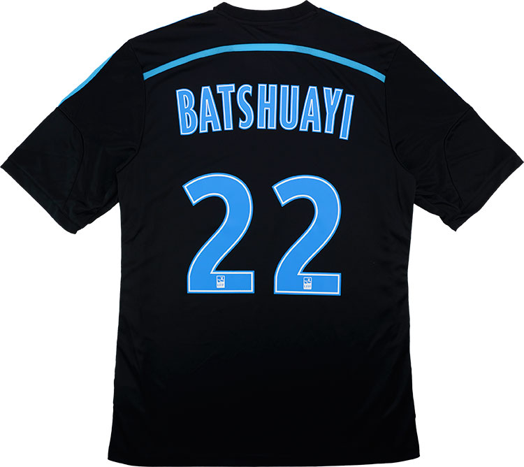 201415 Olympique Marseille Third Shirt Batshuayi 22 wTags L