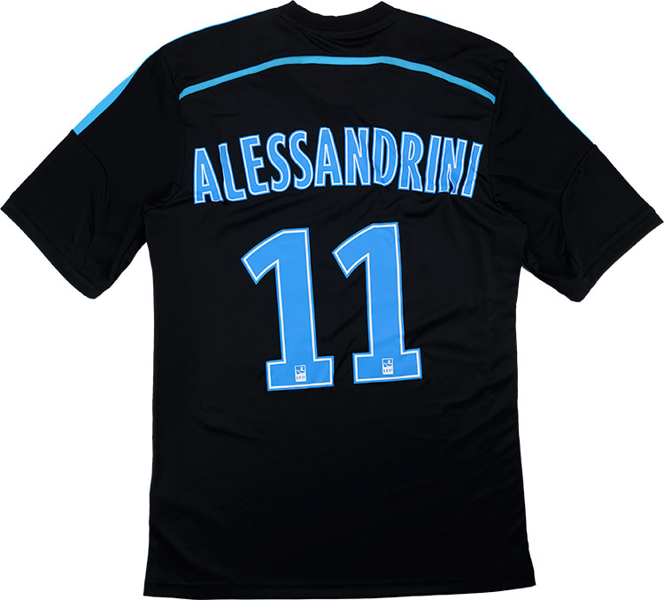201415 Olympique Marseille Third Shirt Alessandrini 11 As New M
