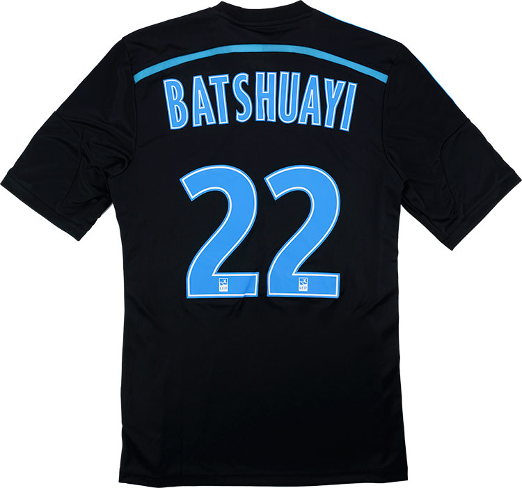 201415 Olympique Marseille Third Shirt Batshuayi 22 As New L
