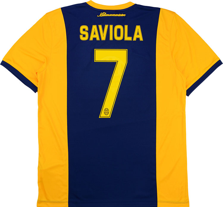 201415 Hellas Verona Home Shirt Saviola 7 wTags XXL