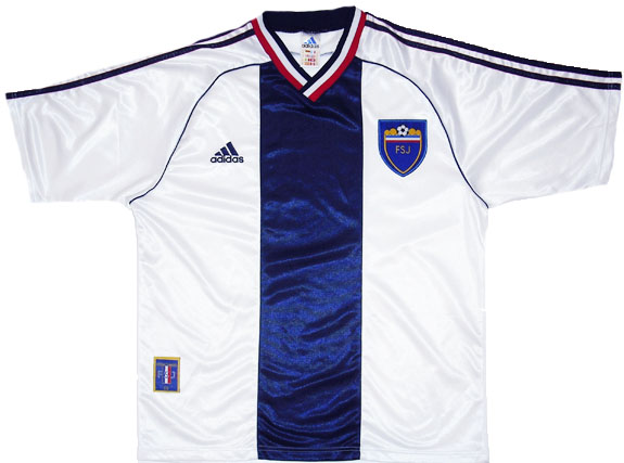 199800 Yugoslavia Away Shirt (Excellent) L